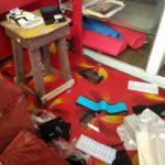 Thieves Raid New Amsterdam Business Place