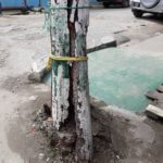Albouystown Residents Worried About Rotting Electrical Pole