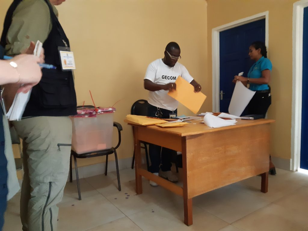 Carter Center, European Union Officials Observe Advanced Voting Exercise in Region 9