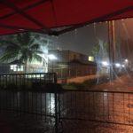 Citizens Brave Midnight Rain to Guard Ballot Boxes