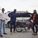 Sheriff Security Grants New Bike to Young Entrepreneur