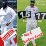 Outrage Grows Over Sidelining of Veerasammy Permaul for 2020 Test Tour