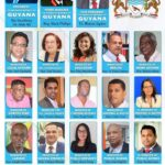 Guyana's New Cabinet - August 2020