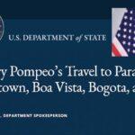 US Security Detail Lands in Guyana as Mike Pompeo Circles Venezuela