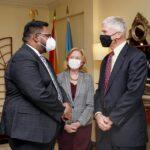 US Admiral Visits Guyana