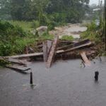 Woman Returns Home to Find Bridge Uprooted, Access Road Damaged