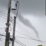 Guyana's First Recorded Funnel Cloud