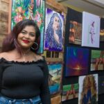Professional Painter, Sheliza Rampersaud, Is a Talented Guyanese
