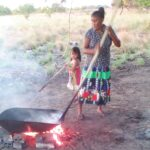 How Locals of the Rupununi Shell and Roast Cashew Nuts