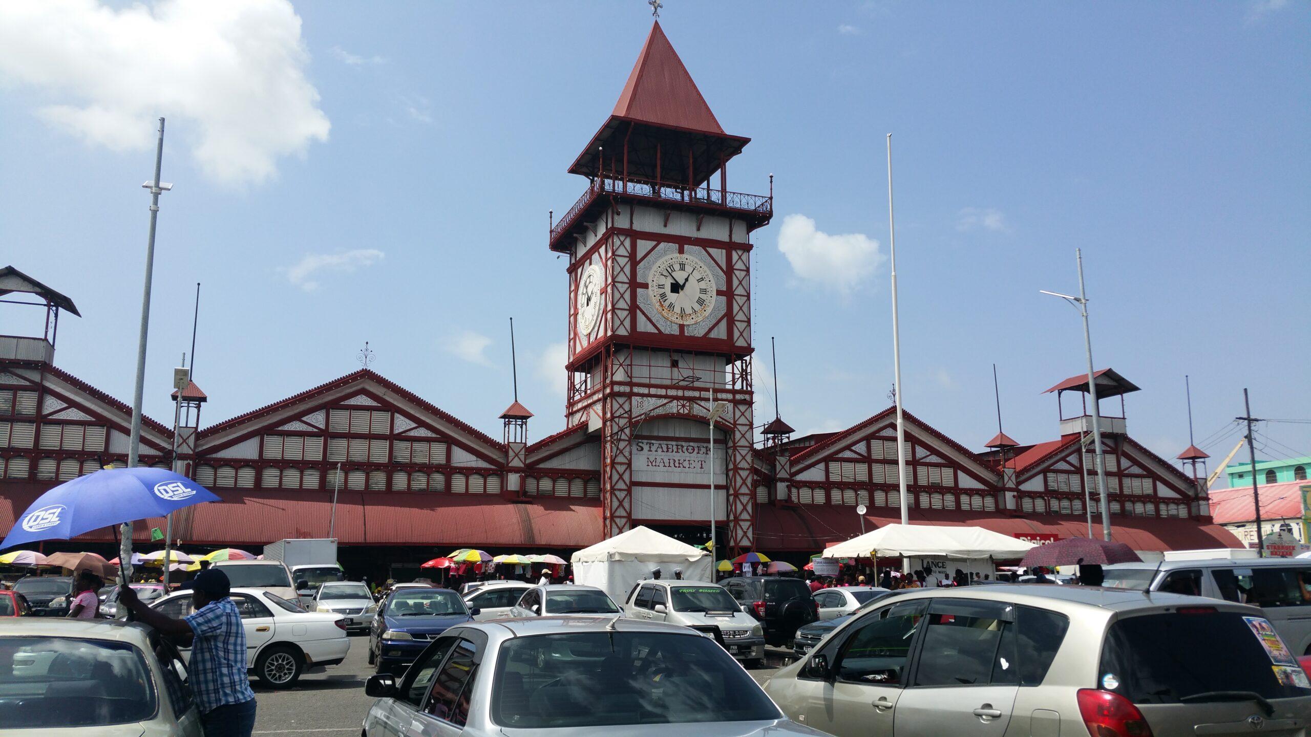 The Stabroek Market in Georgetown, Guyana