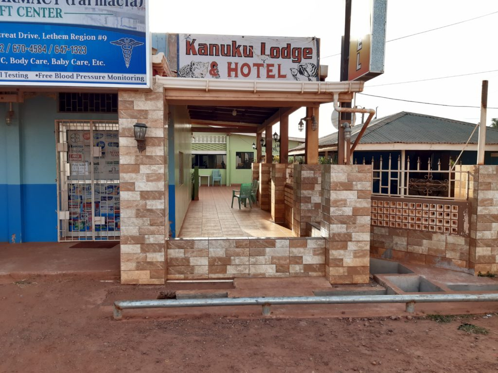 The Kanuku Lodge Hotel in Lethem, Rupununi